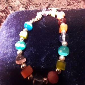 Vintage Monet Multicolored Beads